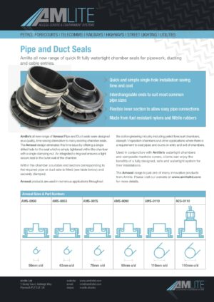 Amseal Access Chamber Boots
